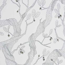 Tapeta Abigail Edwards Oak Tree White