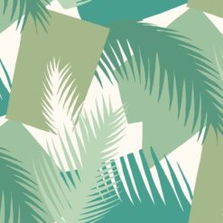 Tapeta Cole & Son Geometric II 105/8037 Deco Palm