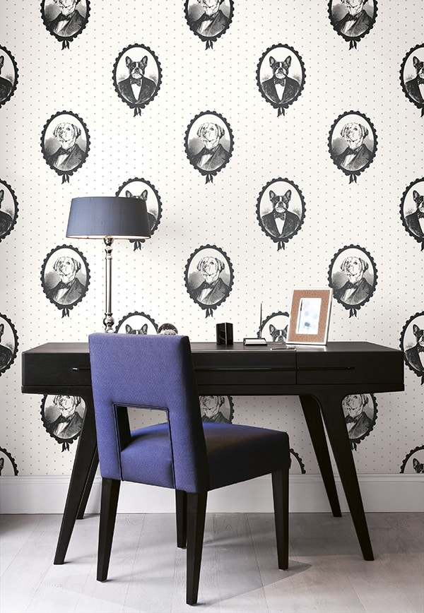Wallquest Black & White 6A-BW21810