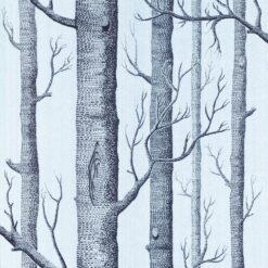 Tapeta Cole & Son Contemporary II 69/12150 Woods szara w drzewa