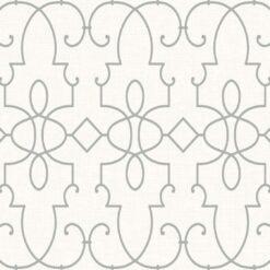 Tapeta Wallquest Jaima Brown Chelsea Lane JB62000 Ironwork on Paperweave