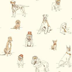 Tapeta York Ashford House Toiles AF1940 Dog's Life