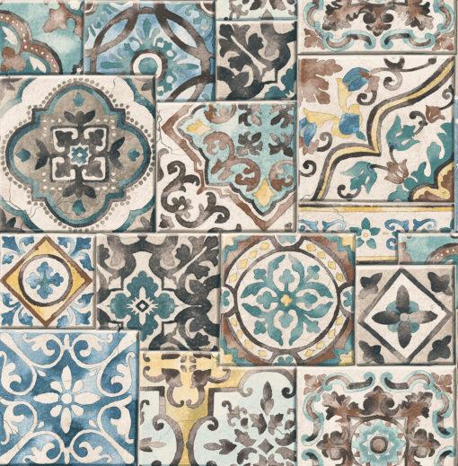 Tapeta A Street Prints Reclaimed 22315 Marrakesh Tiles