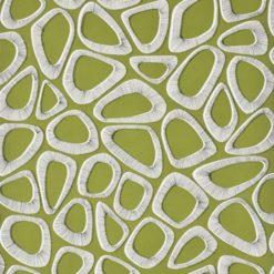 """Tapeta """"Kamyki"""" w kolorze zielonym"""
