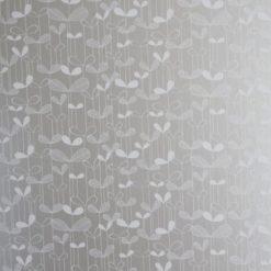 """Tapeta """"Listki Akacji"""" w kolorze srebrnym"""