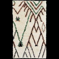 Dywan wełniany w stylu skandynawskim