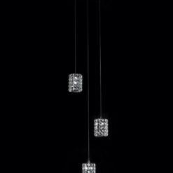 Potrójna lampa wisząca Souffle