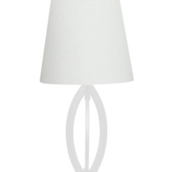 Lampa stołowa Lorita biała