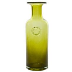Szklana karafka zielona AGL0122