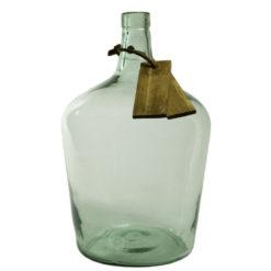 Szklane naczynie zielone AGL0191
