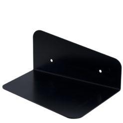 Półka metalowa PANDA II czarna ASH0010