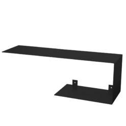 Półka asymetryczna C czarna ASH0060