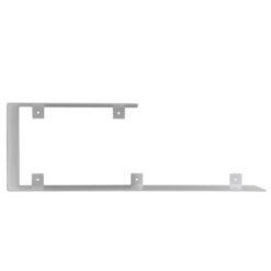 Półka asymetryczna C biała ASH0061