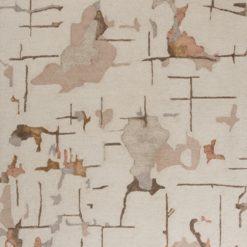 Dywan Linie Design Bita brązowy mały