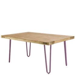 Stolik kawowy z fioletowymi nóżkami FCT0013