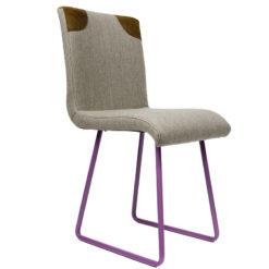 Krzesło na fioletowych płozach FST0021