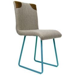 Krzesło na turkusowych płozach FST0022