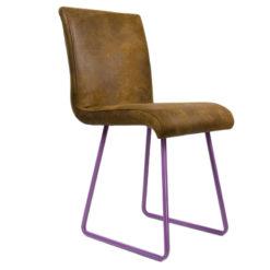 Krzesło na fioletowych płozach FST0031