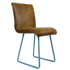 Krzesło na turkusowych płozach FST0032