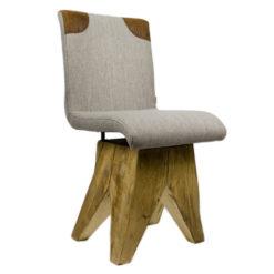 Krzesło na drewnianej podstawie FST0041