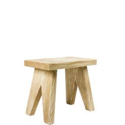 Drewniany stołek FST0090