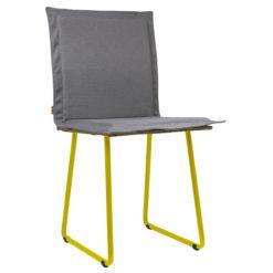 Krzesło gont na żółtych płozach FST0141