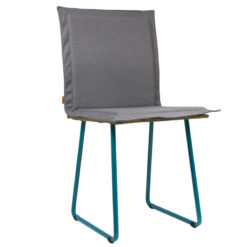 Krzesło gont na turkusowych płozach FST0145