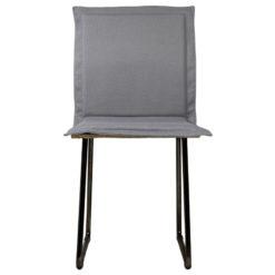 Krzesło gont na czarnych płozach FST0147