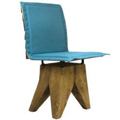 Krzesło gont na drewnianej bazie FST0162