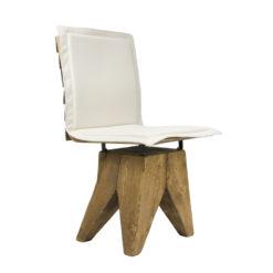 Krzesło gont na drewnianej bazie FST0163