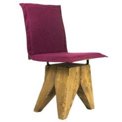 Krzesło gont na drewnianej bazie FST0164