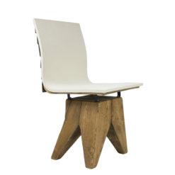 Krzesło gont na drewnianej bazie FST0165