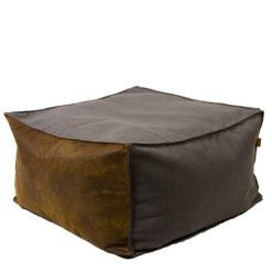 Puf szaro-brązowy FST0171