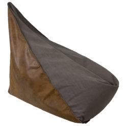 Duży puf szaro-brązowy FST0181