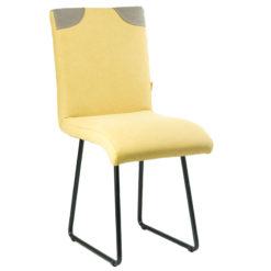 Żółte krzesło na płozach FST0211