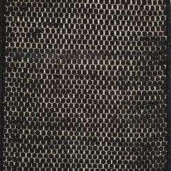 Dywan Linie Design Asko czarny mały