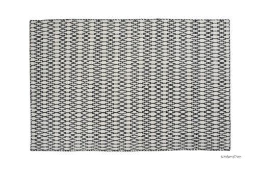 Dywan Linie Design Ellliot czarno biały mały