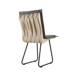 Krzesło do jadalni drewniane brzozowe ORGANIQUE białe FST0343