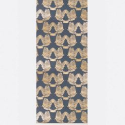 Tapeta Ferm Living Birds Deep Blue / Gold