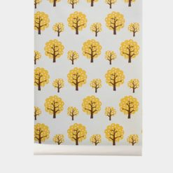 Tapeta Ferm Living Dotty Yellow