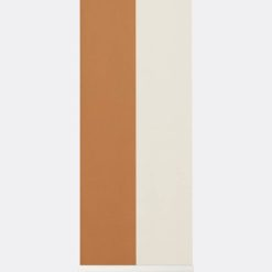 Tapeta Ferm Living Thick Lines Mustard/Off White