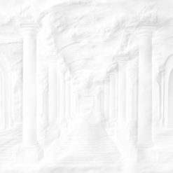 Fototapeta Mineheart Paper Palace Folded Columns Wallpaper Mural