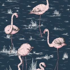 Tapeta Cole and Son Icons Flamingos 112/10041