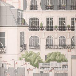 Tapeta Manuel Canovas Papiers Peints Vol. 6 03082/02 Les Toits Paris