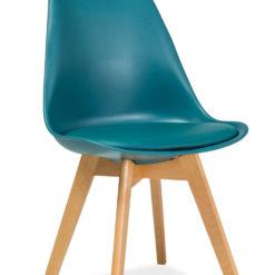 Krzesło w kolorze morskim Kris