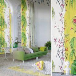 Fototapeta Designers Guild Shanghai Garden PDG655-04 Willow Flover