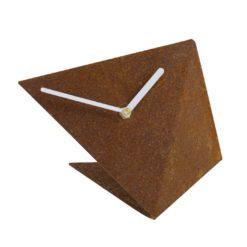 Zegar ścienny BIRD rust w kolorze miedzi