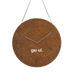 Zegar ścienny ROUND II rust w kolorze miedzianym ACL0032