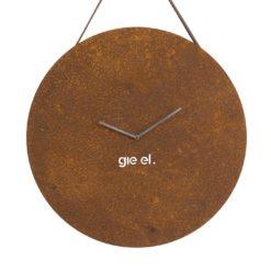 Zegar ścienny ROUND I rust w kolorze miedzianym ACL0033