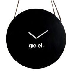 Zegar ścienny ROUND II black